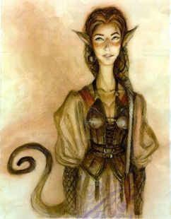 irish folklore pooka // my pooka isn't human, it adheres more closely to the myth, but this is so cute!