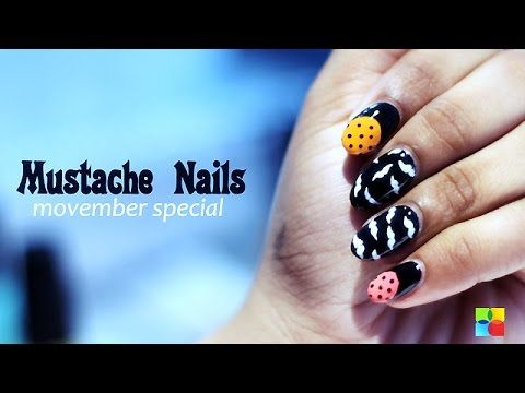 Movember is an annual, month-long event involving the growing of moustaches during the month of November to raise awareness of men's health issues. On nail it, we take inspiration from this event and make an easy-to-follow & innovative #nail art design.