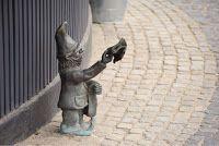 Paper Parasols: Dwarf Hunting in Wroclaw Poland