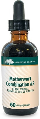 Motherwort Combination #2 provides a combination of Motherwort and synergistic herbs in a convenient liquid format.