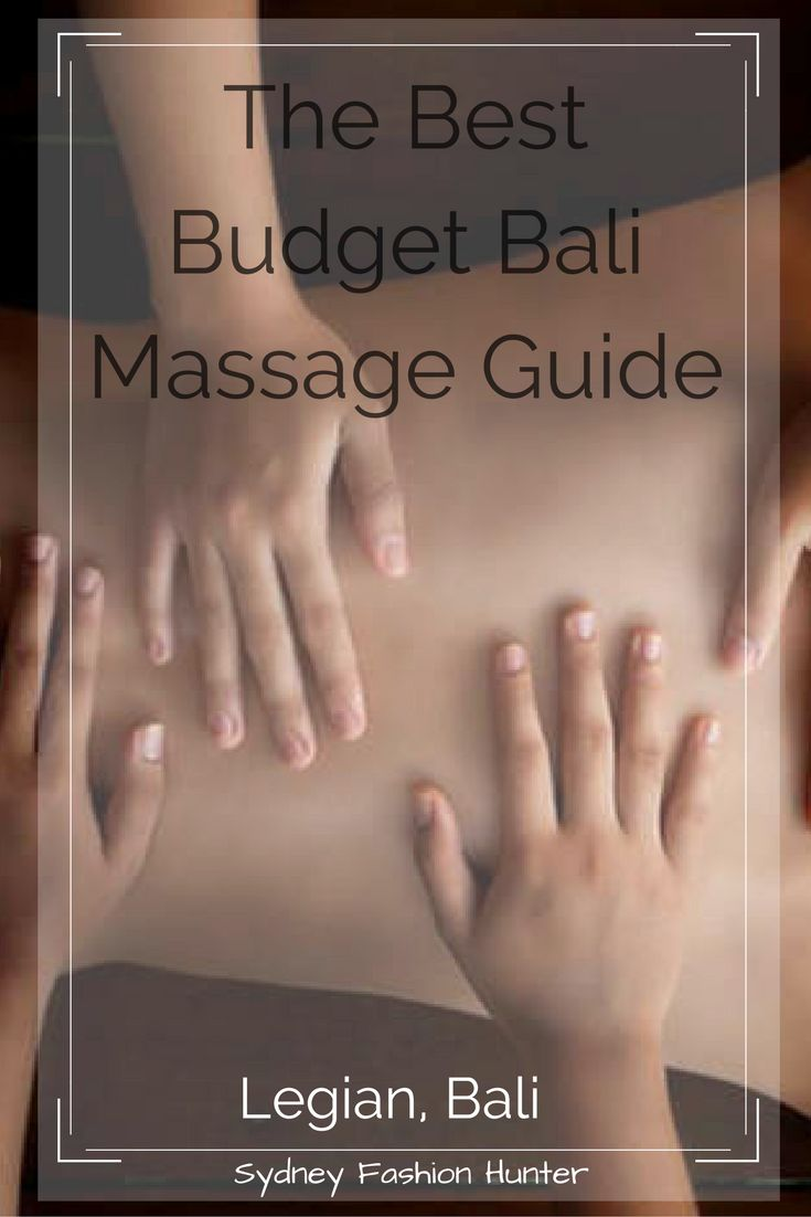 If you don't know your Aromatherapy from you Lomi Lomi you need this guide to the best budget Massages in Bali.