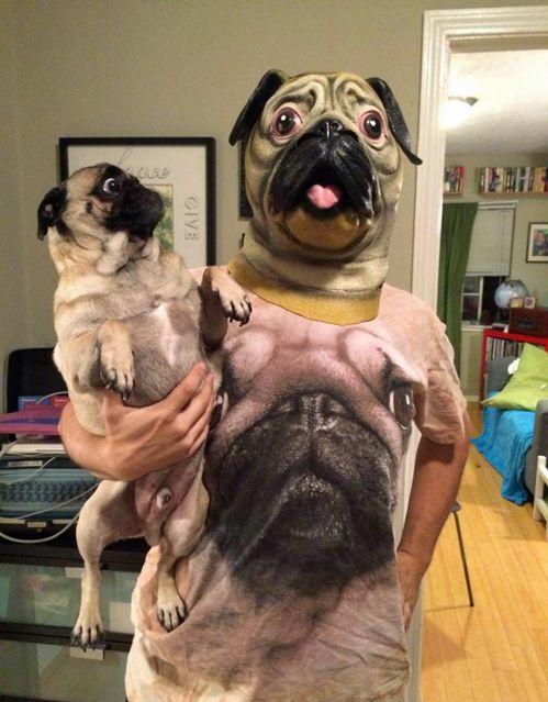 Quando você é fã do seu cachorro,  rsrsrs