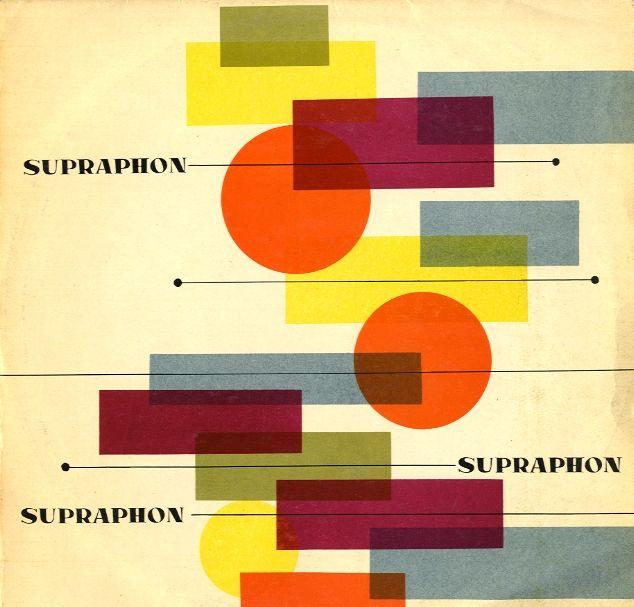 Supraphon vintage album cover