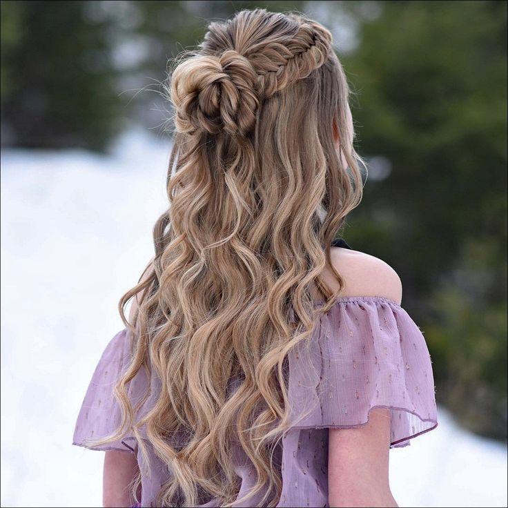 20 wunderschöne geflochtene Frisuren für Frauen, an denen Männer beteiligt sind