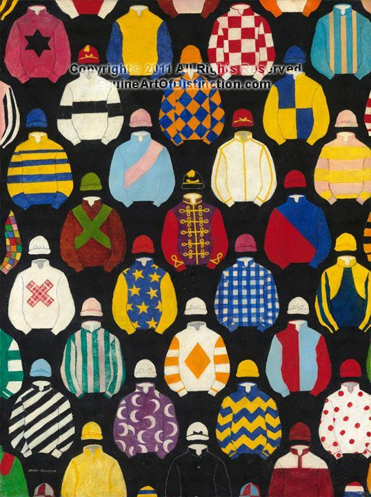 "Jockey silks and thoroughbred art"" on Pinterest 