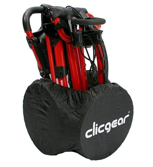 Hold bilen fri for snavs fra din Clicgear vogn, med dette smarte  hjulcover Pris 199,-