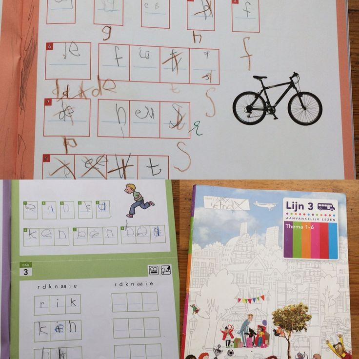 Max, 1e klas. Spellingwerkboek thema 1-6 van Lijn 3