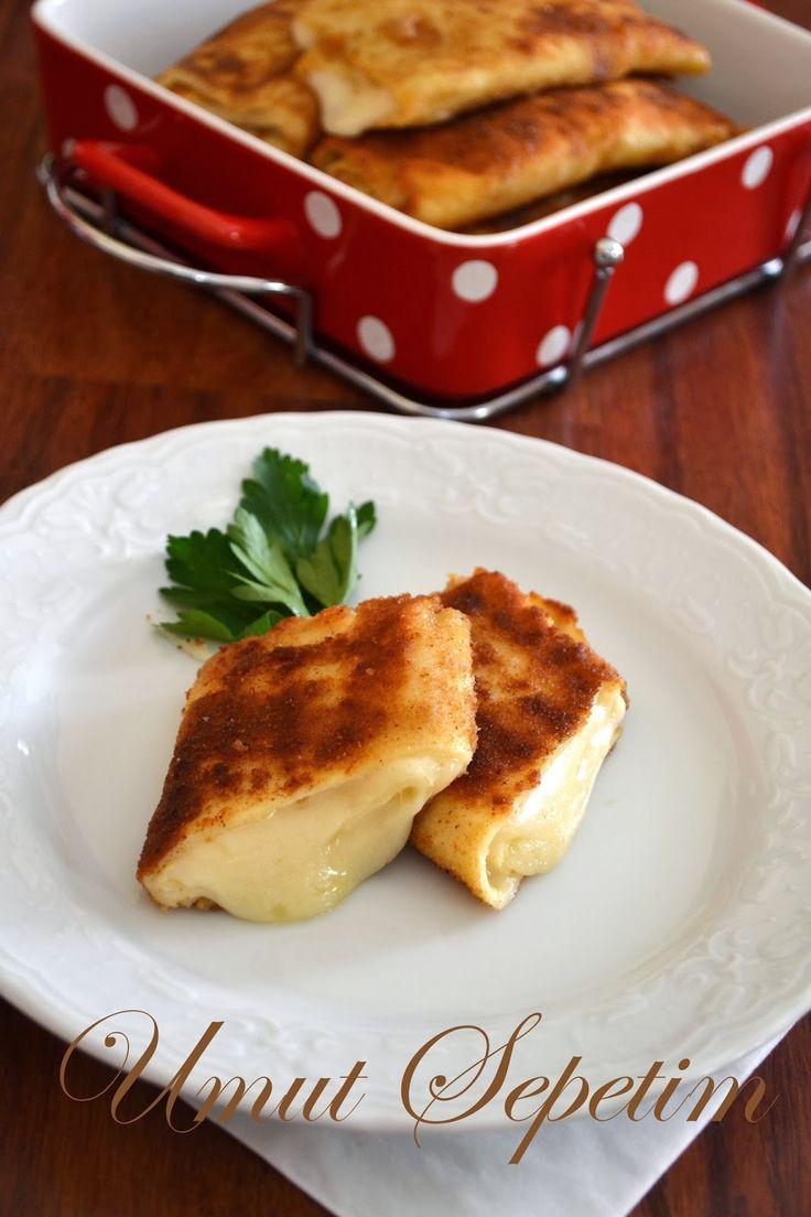 Umut Sepeti – Pratik Yemek Tarifleri – Kaşarlı Krep Böreği
