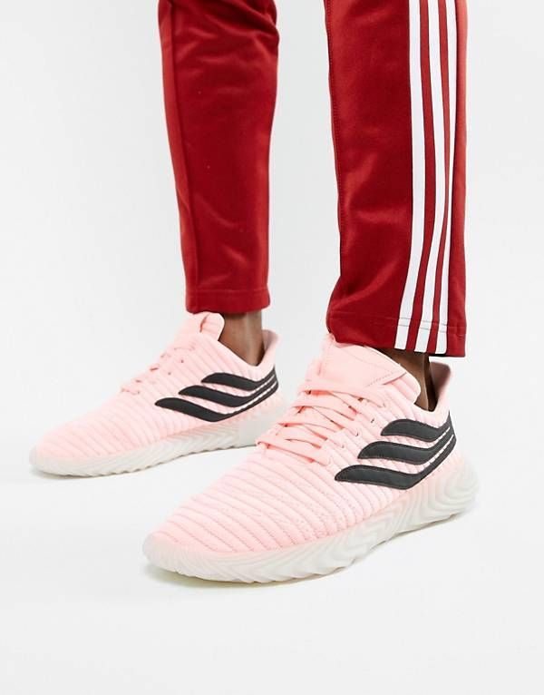 finest selection 1f734 ad761 adidas Originals Sobakov Trainers In Pink BB7619