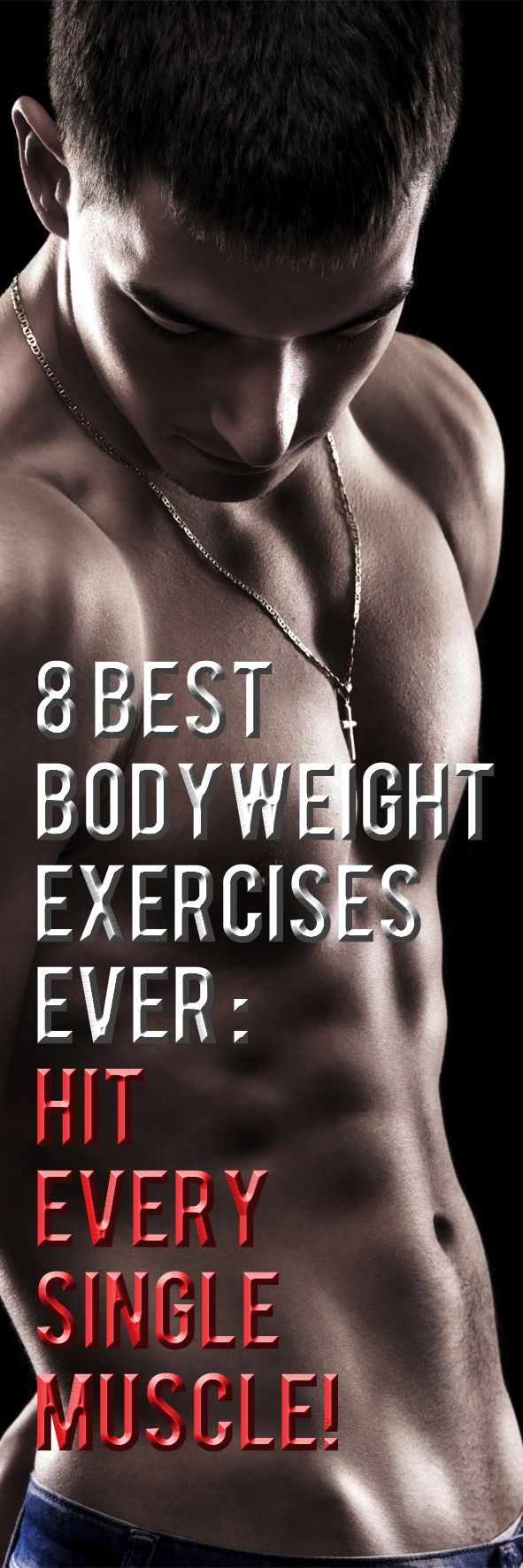 With so many bodyweight exercises to choose from, picking the 8 best was certainly a challenge. That said, in this video I show you the 8 best bodyweight exercises you can do and how you can cover all the major muscles in your body with them.