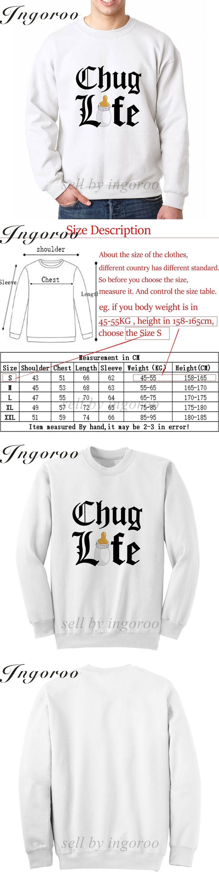 Babaseal Chug Life 2 Print Letter Oversized Luminous Hoodies Hoody Off White Sweatshirt New 2017 Cloak Hoodie Bts Sweatshirts
