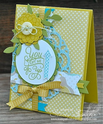 Card by Stacey Schafer using Verve Stamps.