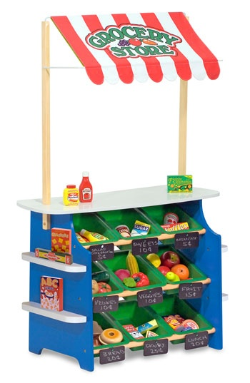 Melissa & Doug Play Time Convertible Grocery Store & Lemonade Stand | Nordstrom
