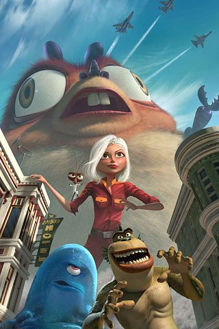 Monsters Vs Aliens 2 Android Wallpaper HD