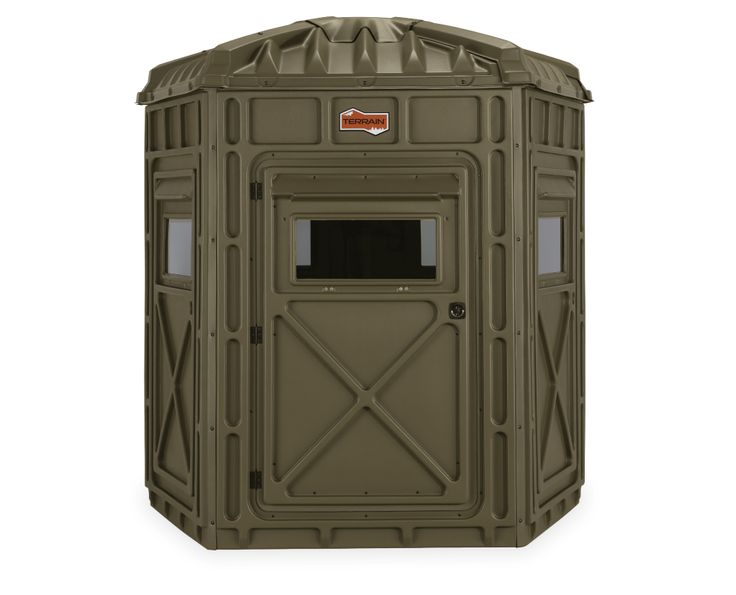 Terrain Outdoors Quot The Pentagon Quot Hunting Blind Hunting