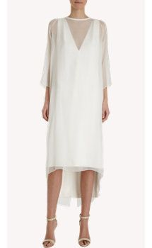Juan Carlos Obando Sheer Overlay Dress #LWD #barneysnewyork http://fashionforum111.blogspot.com/