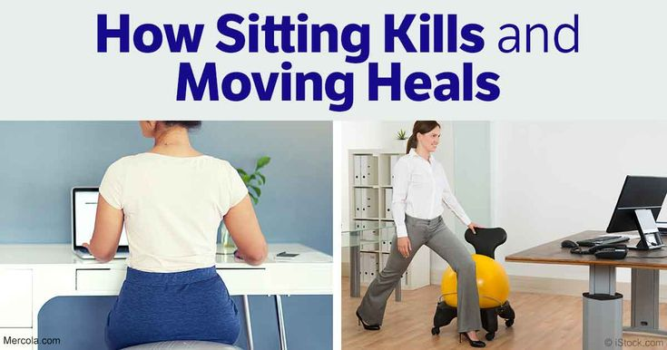 Sitting too much and lack of movement are creating fundamental changes in movement patterns and posture among U.S. adults and children. http://fitness.mercola.com/sites/fitness/archive/2017/01/27/standing-for-mental-clarity-physical-health.aspx