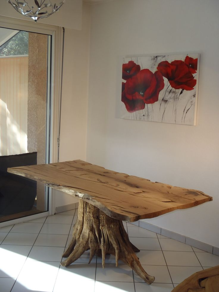 Best 25 tree stump table ideas on pinterest stump table - Fabriquer table basse originale ...