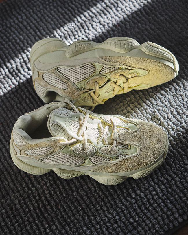 Yeezy Desert Rat 500 Super Moon Yellow | Chaussure sneakers
