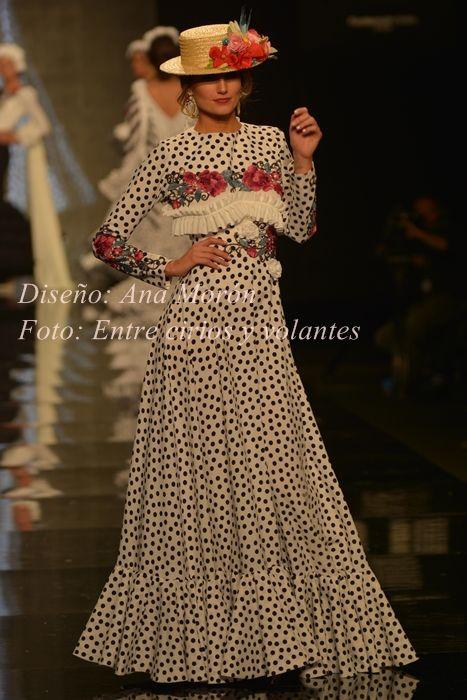 traje de flamenca ana moron simof 2015