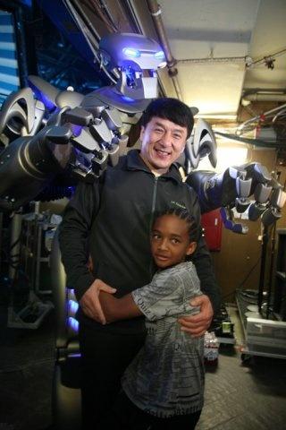 Karate Kid v Titan. Jackie Chan and Jaden Smith