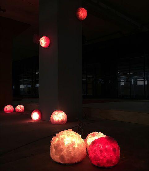 Chrystal - Isaac Monté -  Expositie | Veemgebouw za 22 okt. - zo 30 okt. BioArt Laboratories: The Essence of Things We experimenteren met materialen en gieten hun essentie in nieuwe vormen en functies.