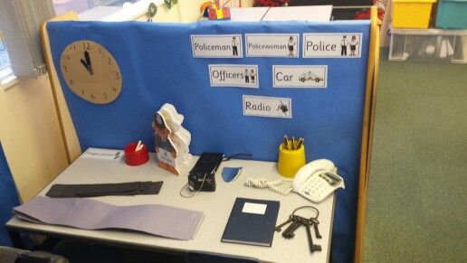 Police station role play area