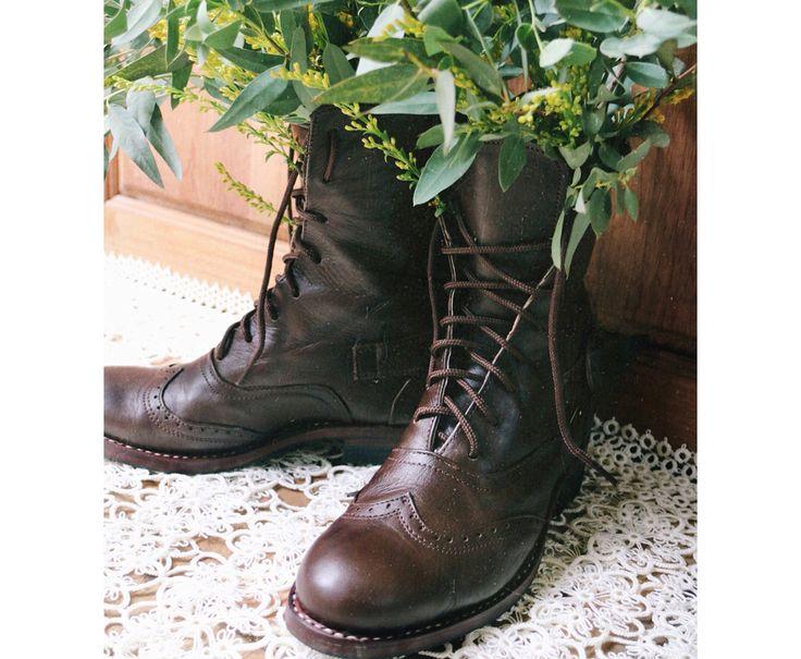 Kinder Kickers Kick Chuk Leder schwarz warm Winter Boots Schuhe Sz Grosse