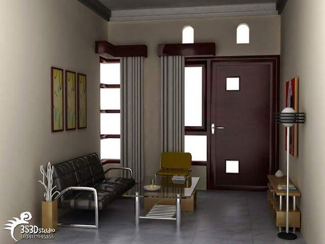 Top Desain Ruang Tamu Di Teras Rumah  desain ruang tamu kecil minimalis sederhana dan modern