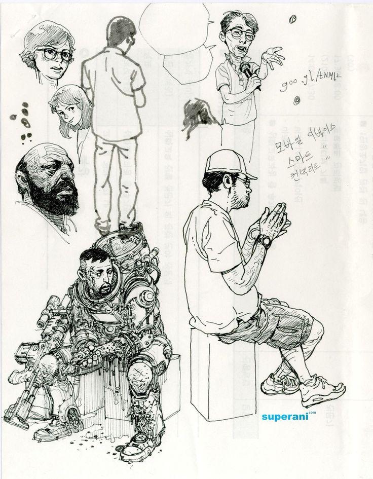 Pen on paper #kimjunggi