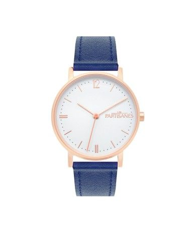 FRENCH MODE // Les Partisanes - Watch L'audacieuse Pink Gold - #lespartisanes #frenchwatches #watches #madeinfrance