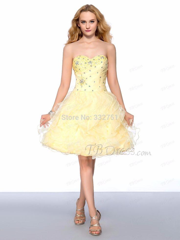 Купить товарНа заказ! 2015 горячая распродажа милая рукавов бисероплетение многоуровневое узелок длиной до колен из органзы платье возвращения домой в категории Бальные платьяна AliExpress.                           Платье размер диаграммы         Плюс размер платья размер диаграммы  &