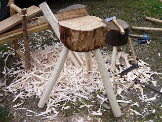 Woodsman Crafts: Green woodworking tools