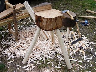 Woodsman Crafts: Green woodworking tools