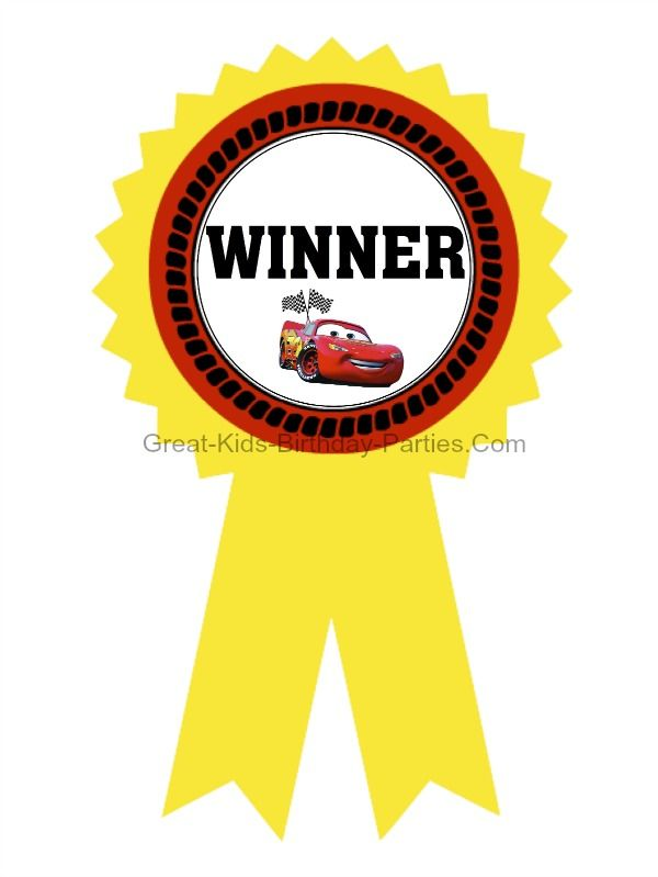 disney cars games free printable cars gold medal ribbons - Free Disney Games For 4 Year Olds