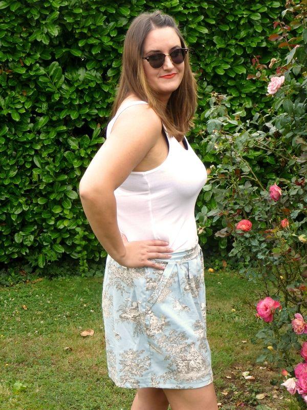 Aime Comme Marie's Manège culottes by Les Boutiqueuses (jupe-culotte)