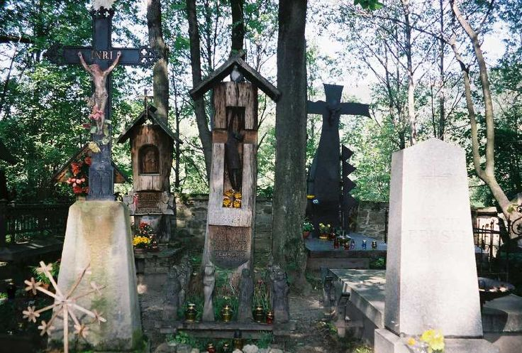 Polish cemeteries are unique.  There is usually such a rich variety of graves' styles and care for the graves by alive family members anywhere else in the world.In Poland, people travel from all over the country to visit the graves of their dearly departed. They place candles and flowers on graves of ancestors and friends, favorite teachers, even on lonely graves that no one visits.