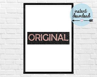 ORIGINAL Print - Instant Download Print - Printable Art