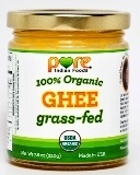 Ghee is awesome and Pure Indian Foods is not only local (Jersey) and family owned since the 1880's, it's the only 100% grass-fed ghee in America.  Sooooo Goooood.
