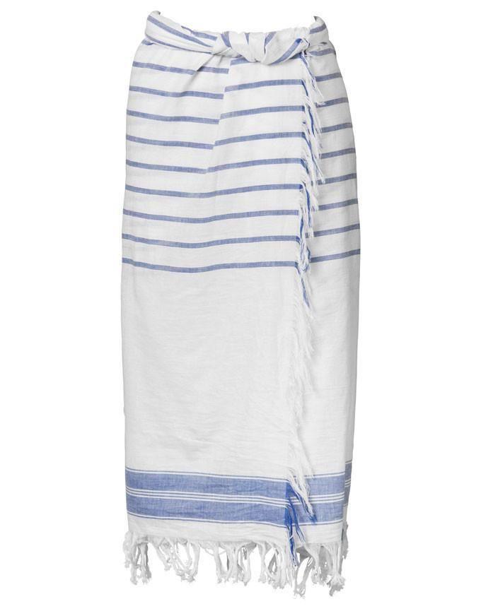 Greek Blue Sarong   One Season Australia   Boho Chic - https://www.bohochic.co.uk/collections/accessories