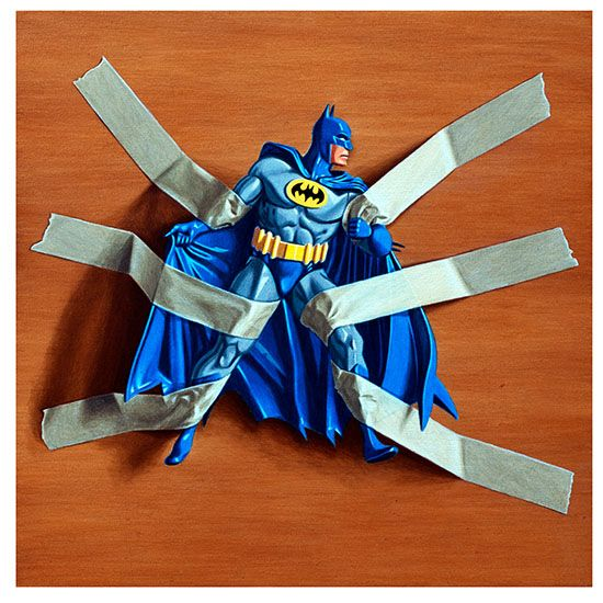 SOS Geek • geekygeekweek: Simon Monk – Trapped Batman The...