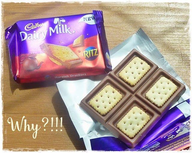 Cadbury's #Milch #Milch #Schokolade #mit #Ritz…