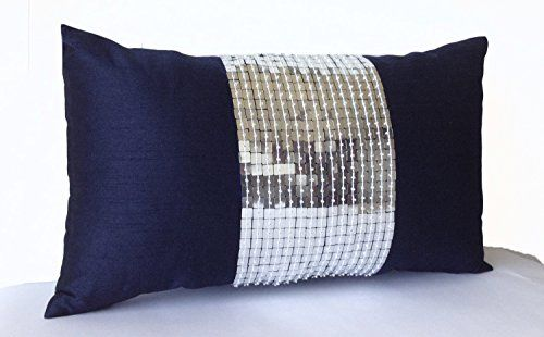 Amore Beaute Handcrafted Decorative Pillow Case - Navy Bl... https://www.amazon.com/dp/B00X7VR3Q8/ref=cm_sw_r_pi_dp_0YoDxbK5YDPFT