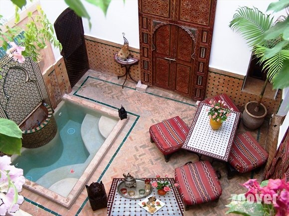 MarrakechArt Marrakech, The Ponds, Private Pools, Marrakech Inspiration, Marrakech Morocco, Courtyards Pools, Marrakech Places, Outdoor Spaces, Marrakech Style