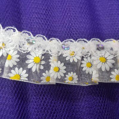 180514af75 Fodros ,flitteres csipke díszítő szalag fehér | Sewing | Sewing ...