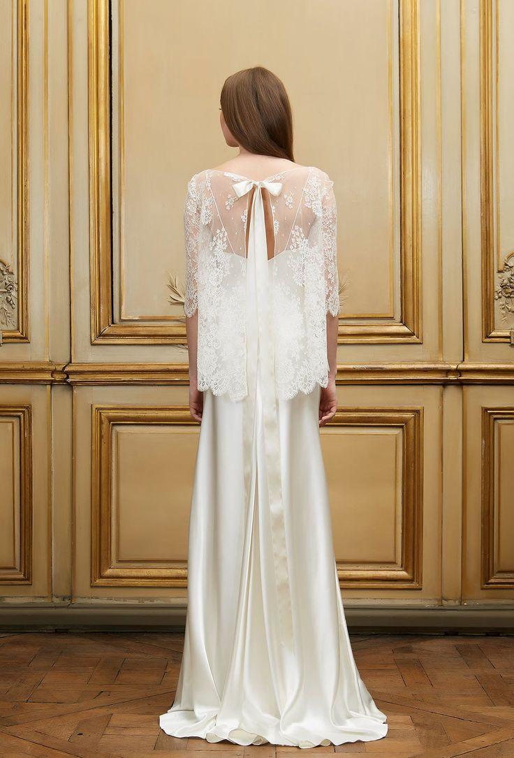 Top de mariée en dentelle Zaharus & Robe Edouard - Signature Collection - Robes de mariée - Delphine Manivet