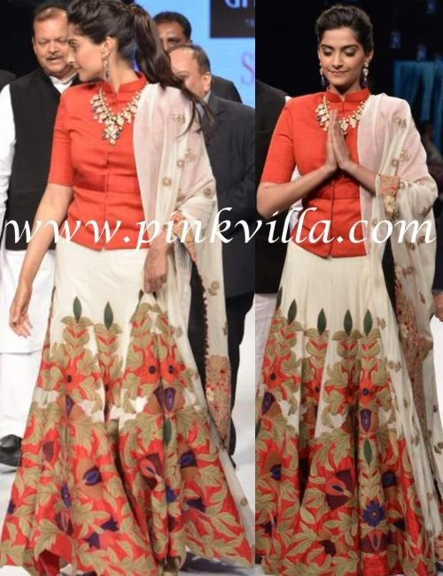 Sonam Kapoor dons Anamika Khanna   PINKVILLA