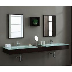 Picture Gallery Website Xylem BLOX Bath Set Consoles Bridge Wall Shelf Mirrors