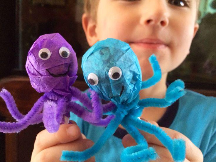 how to make vinigar octopus