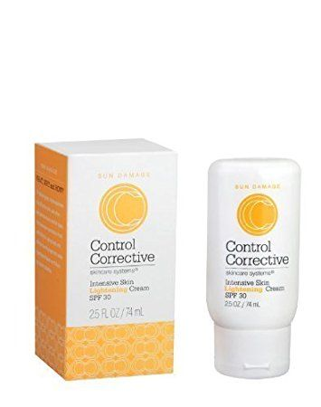 Control Corrective Intensive Skin Lightening Cream with SPF 30 – 2.5oz Review